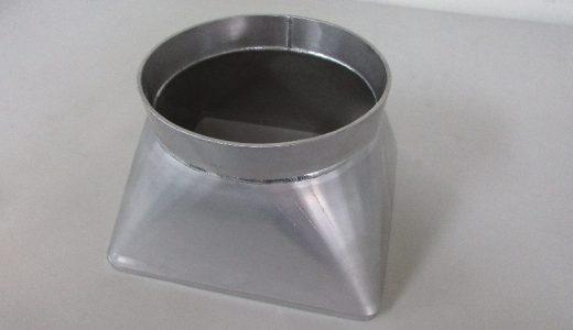 ステンレス製 角丸円錐