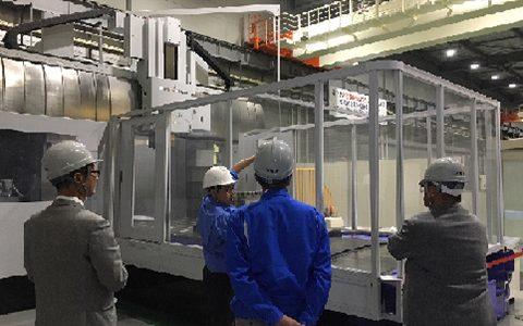 五面加工機 MVR トレーニング-三菱重工工作機械株式会社 栗東工場様にて-