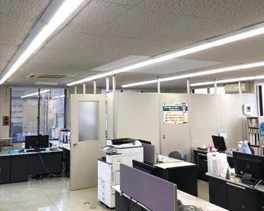 北陸工場 照明LED化